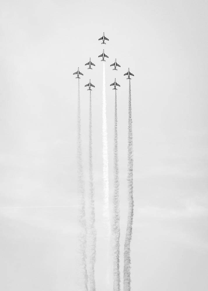 Pokaz Samolot贸w, Plakat - 1
