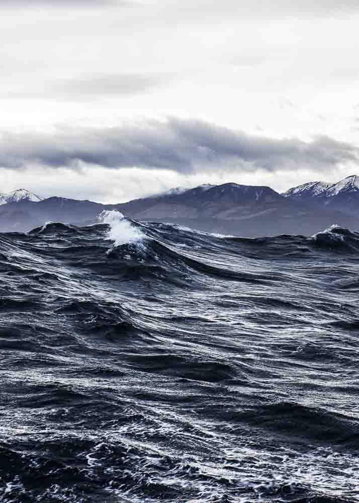 Wzburzone Morze, Plakat - 1