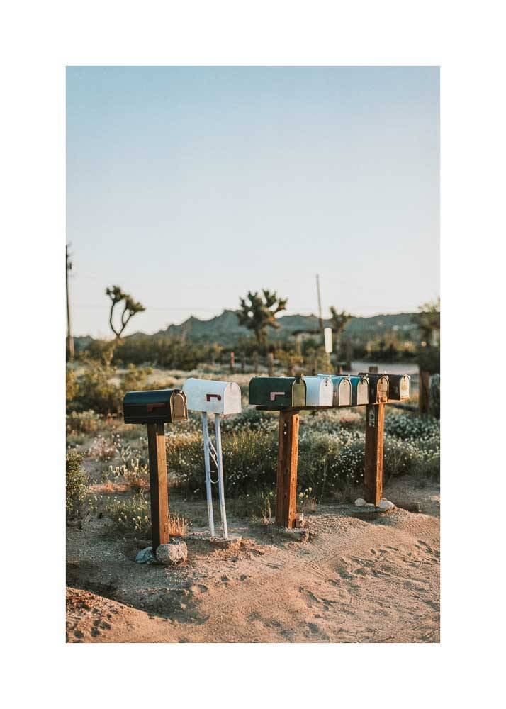 Skrytki pocztowe na pustyni, Plakat - 1