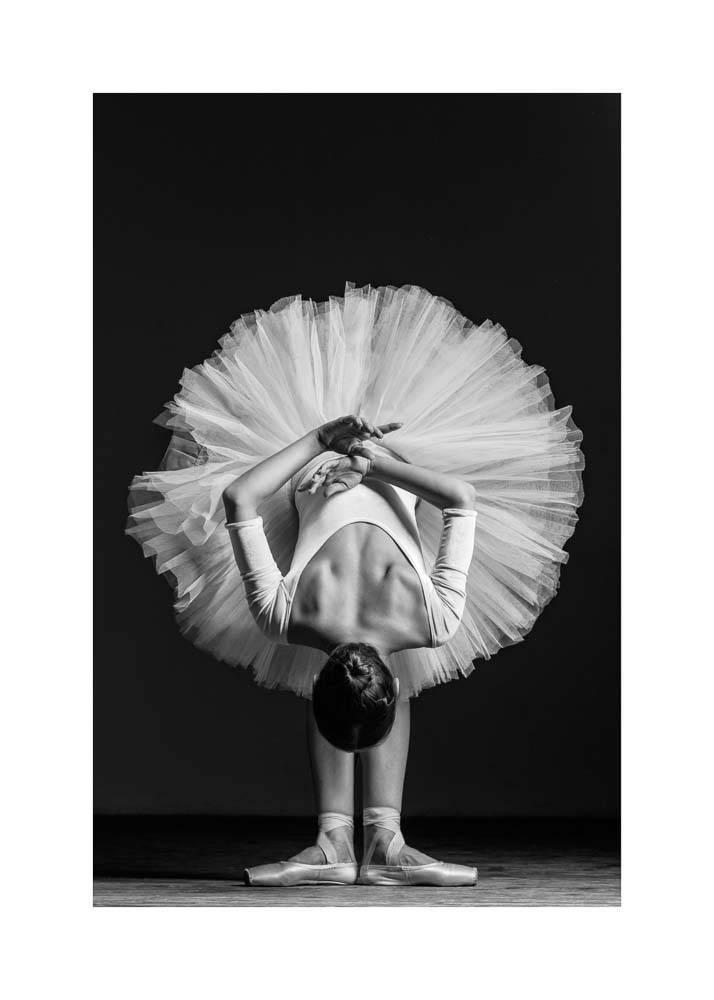 Ballerina w Pointach No.1, Plakat - 1