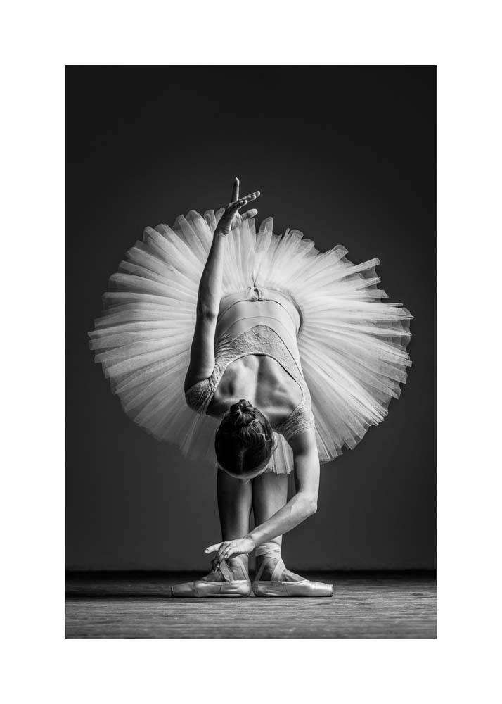 Ballerina w Pointach No.2, Plakat - 1