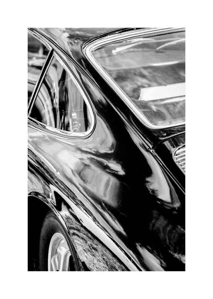 Karoseria Samochodu Retro, Plakat - 1
