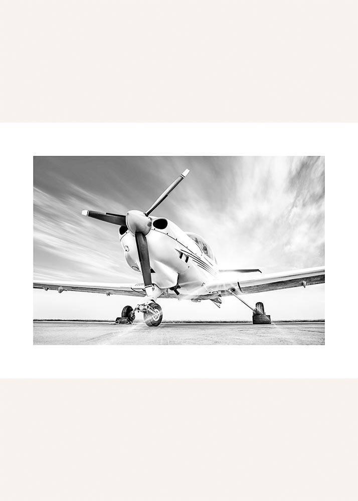 Samolot Gotowy do Startu, Plakat - 1