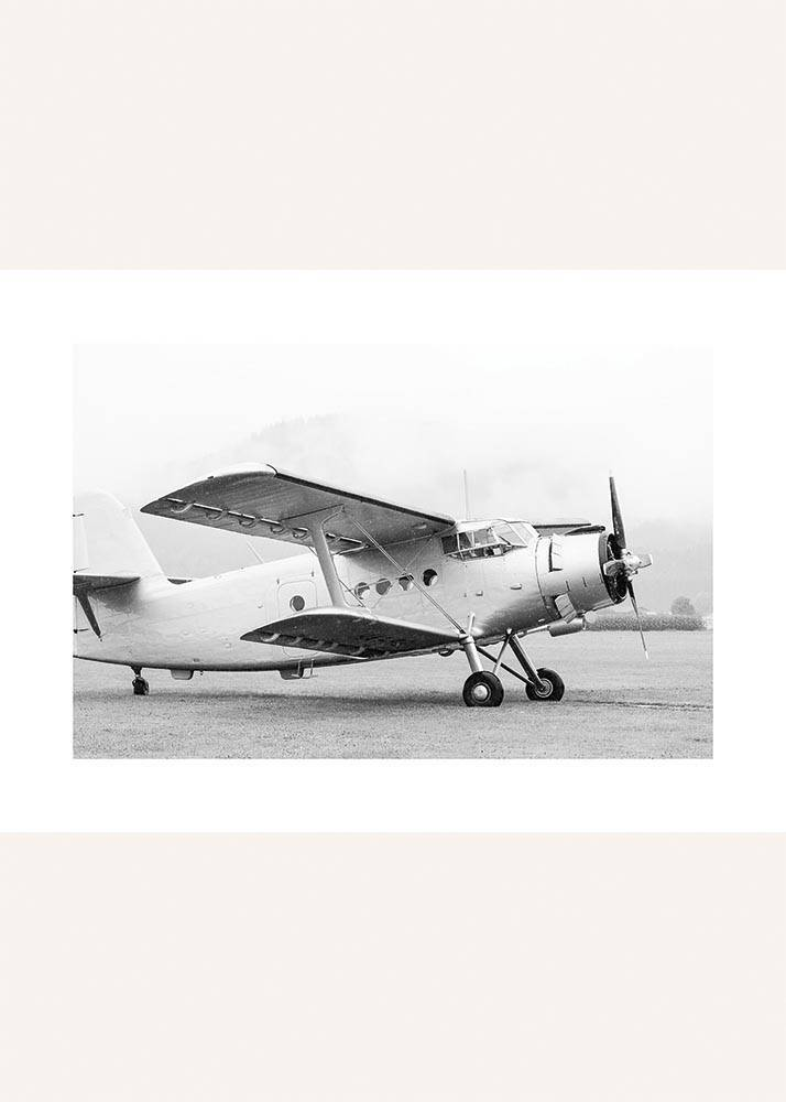 Samolot Retro Z Boku, Plakat - 1