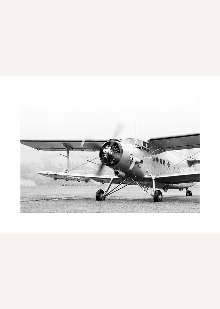 StartujÄ…cy Samolot Retro, Plakat - 1