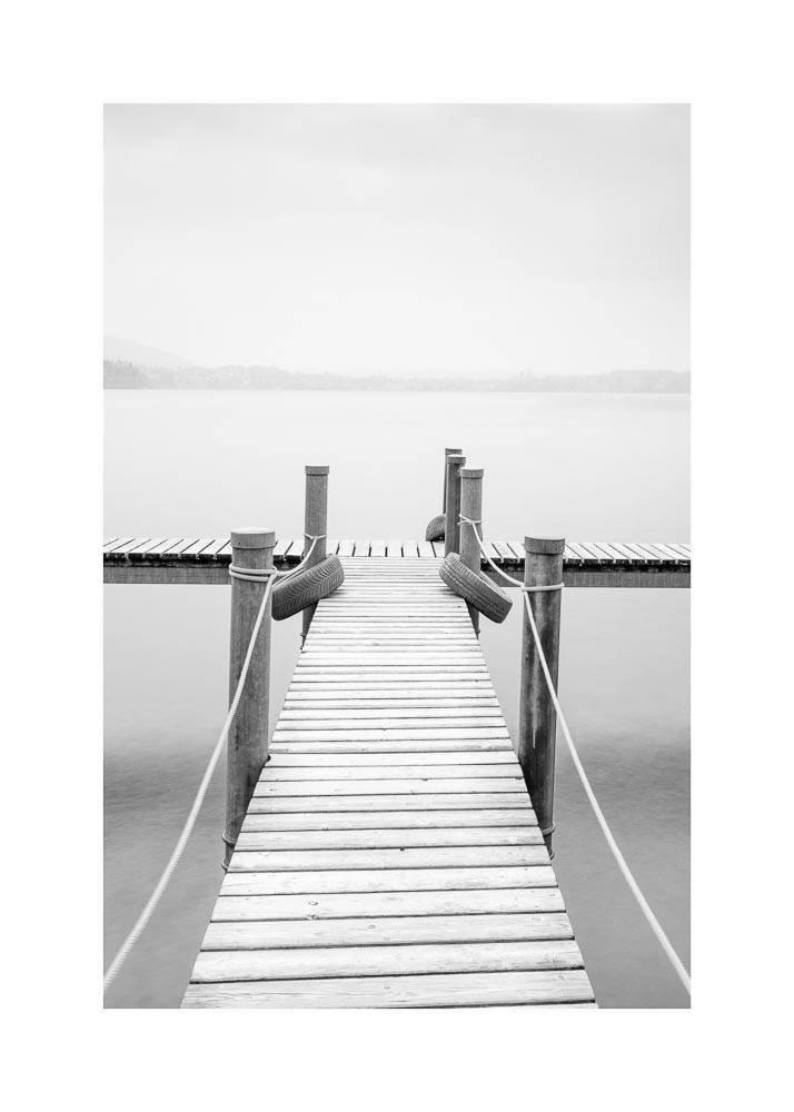 Pomost na Jeziorze, Plakat - 1