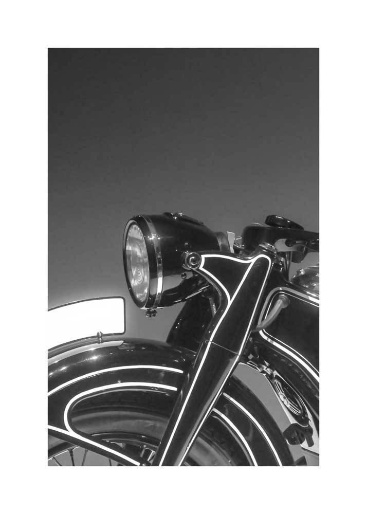 Motocykl Retro, Plakat - 1