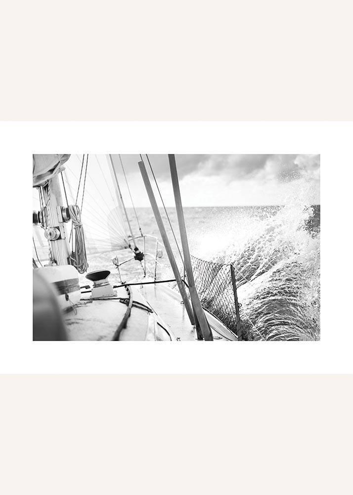 Statek Na Morzu No.2, Plakat - 1
