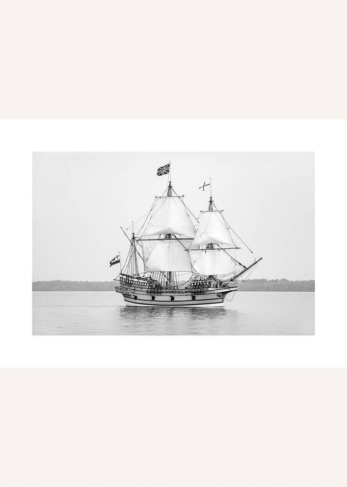 Statek na Spokojnym Morzu, Plakat - 1
