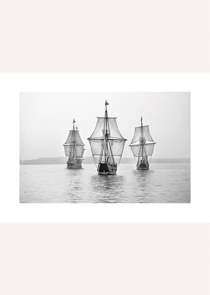 Statki na Spokojnym Morzu, Plakat - 1