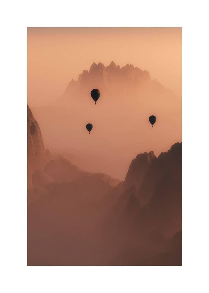 Balony w Górach, Plakat - 1
