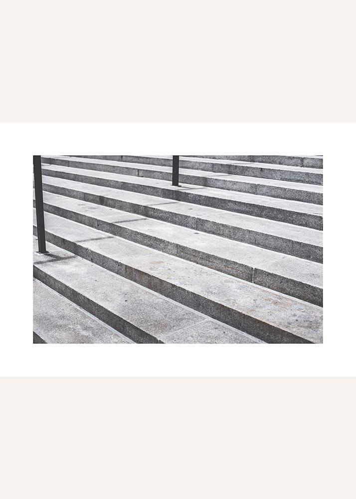 Schody betonowe, Plakat - 1