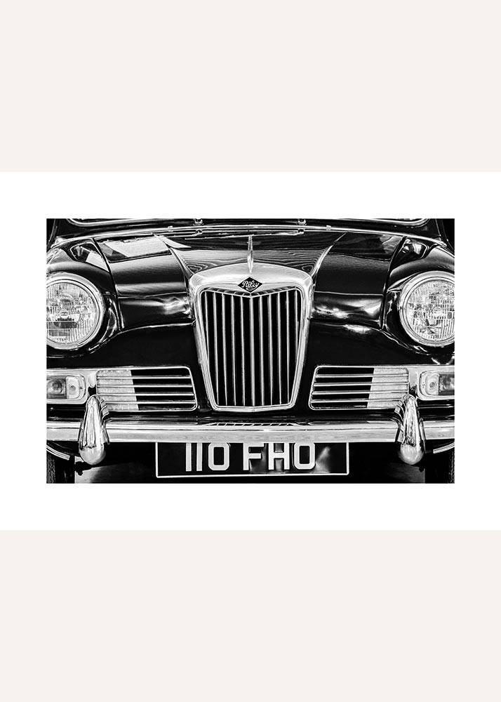 Zabytkowy samochód No.2, Plakat - 1