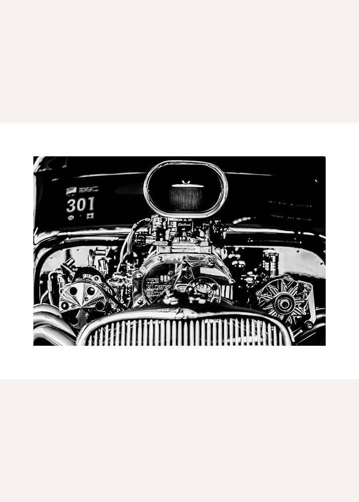 Zabytkowy samochód No.3, Plakat - 1