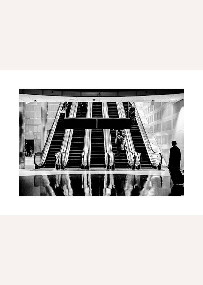 Ruchome schody w metrze, Plakat - 1