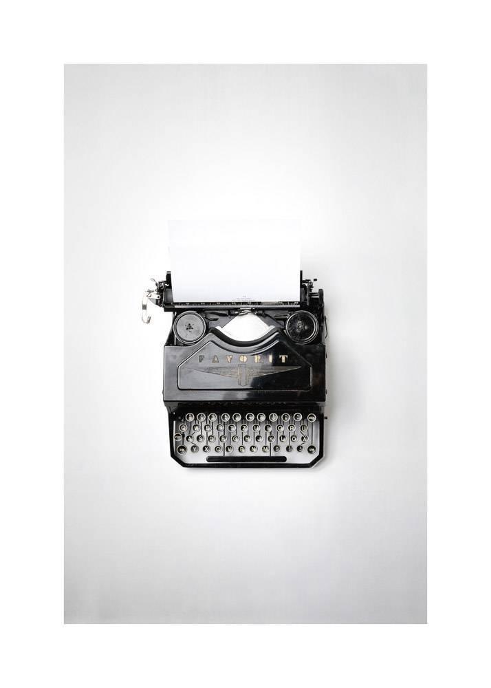 Maszyna do Pisania, Plakat - 1