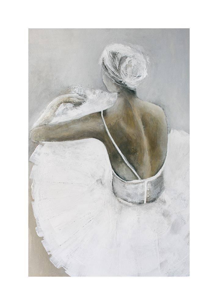 Baletnica, Plakat Mermer Art - 1