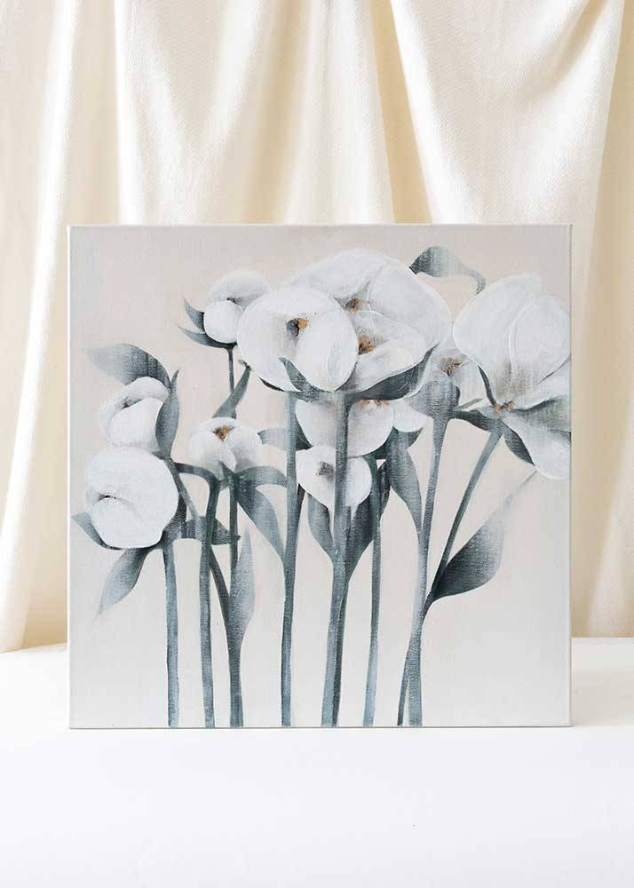 Blooming peonies, Obraz Na Płótnie - 1