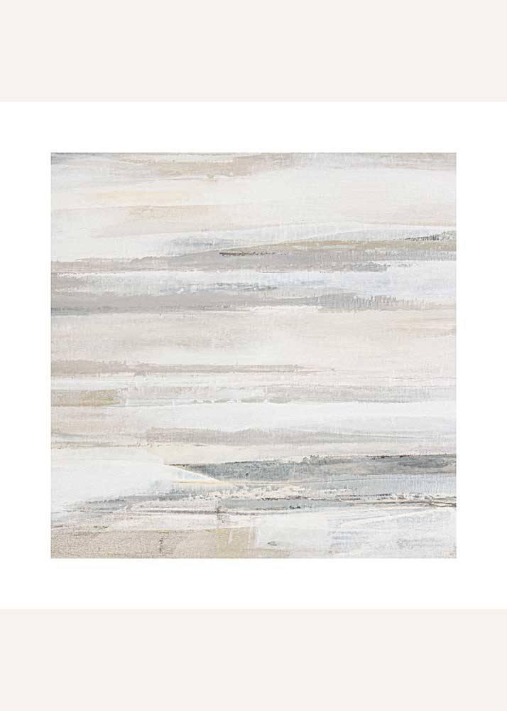 Beżowa Abstrakcja No.3, Plakat Mermer Art - 1
