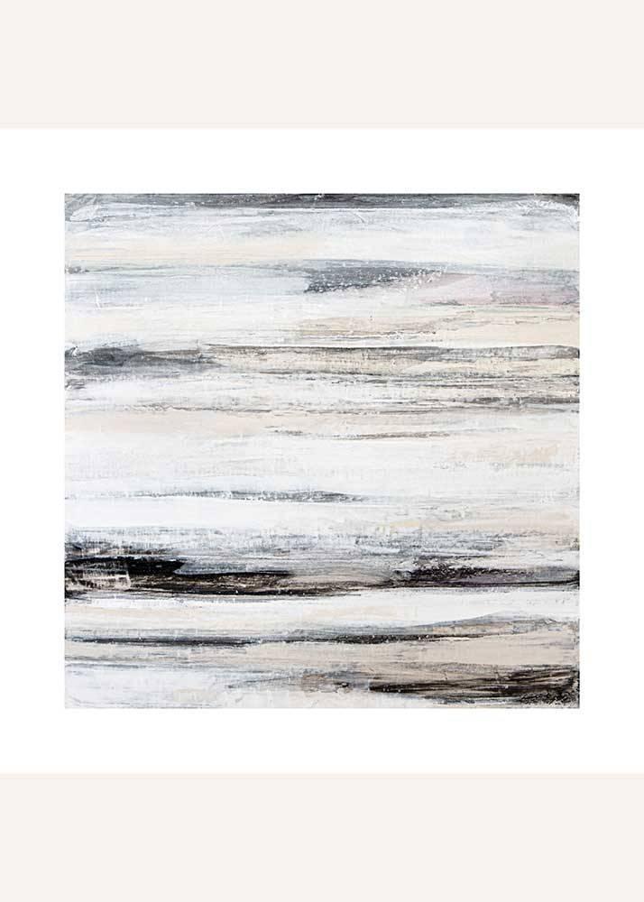 Beżowa Abstrakcja No.4, Plakat Mermer Art - 1