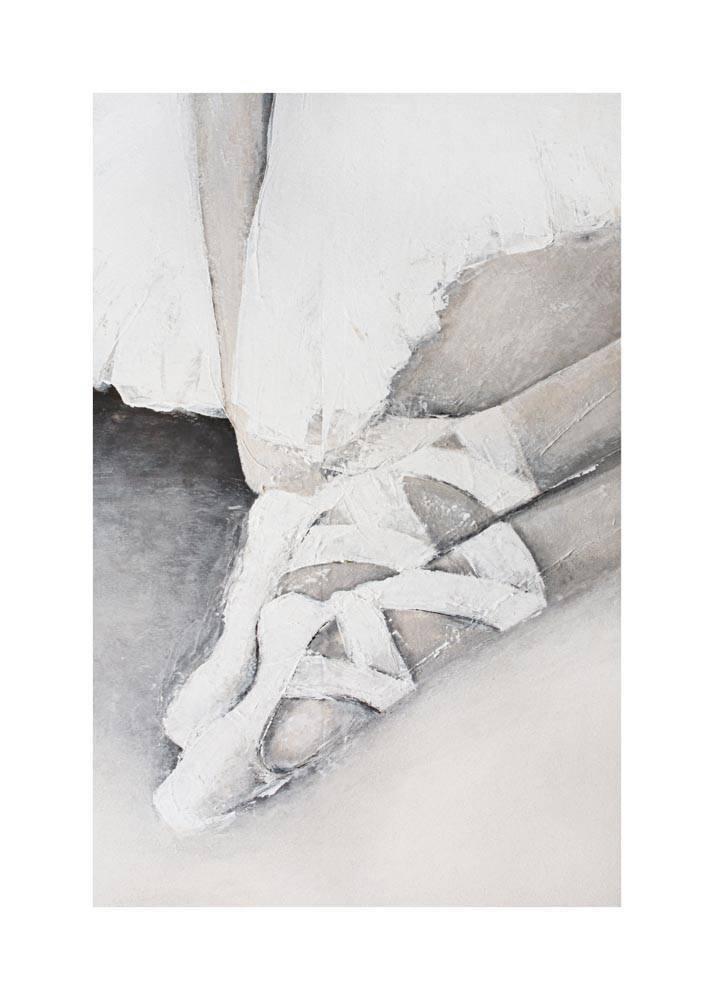 Baletki, Plakat Mermer Art - 1