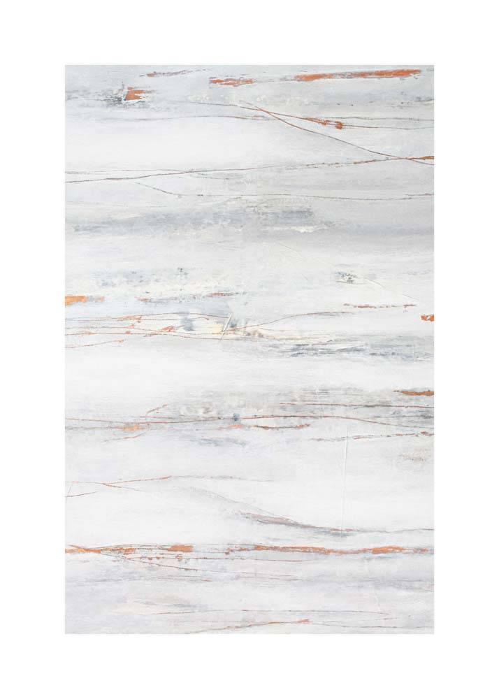 Miedziany Marmur, Plakat Mermer Art - 1