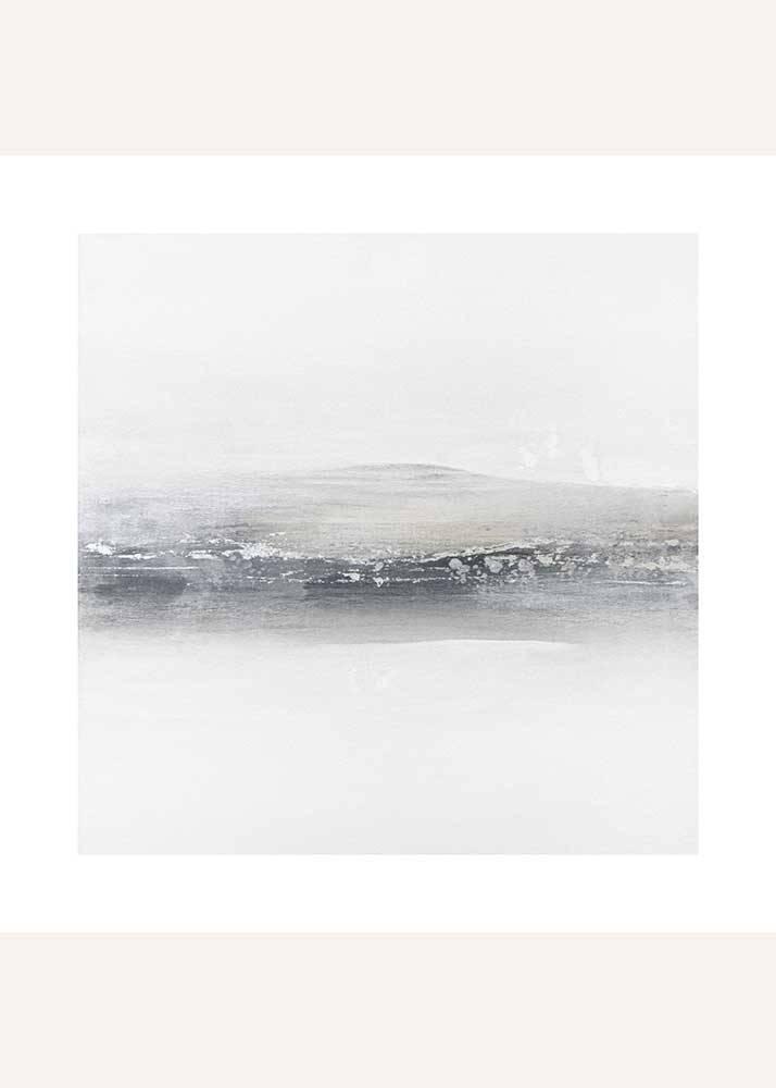 Szara abstrakcja No.2, Plakat Mermer Art - 1