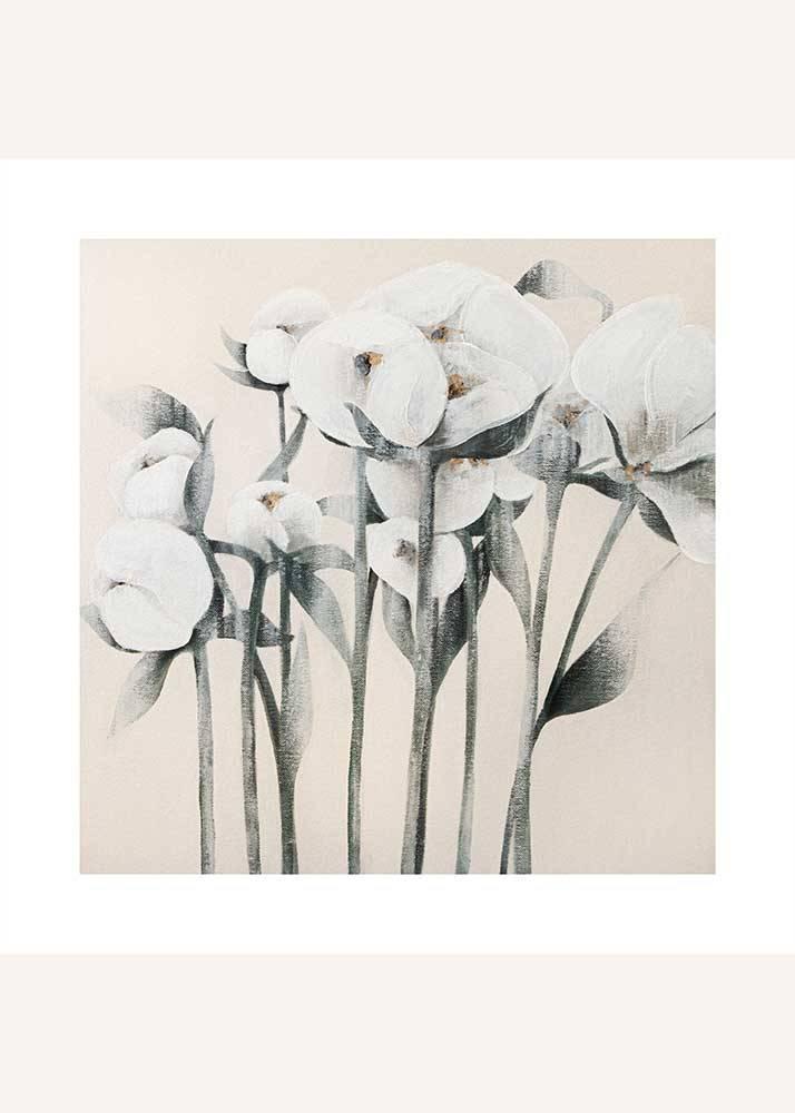 Piwonia No. 2, Plakat Mermer Art - 1